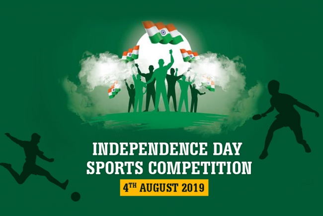 INDEPENDENCE DAY SPORTS COMPETITION ON  4th  AUGUST  2019