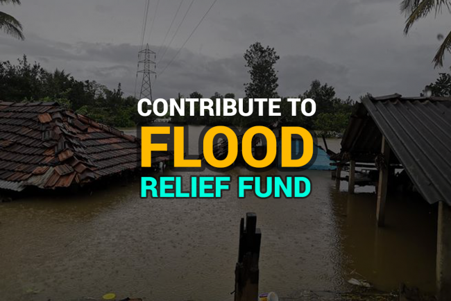 Contribute to Flood Relief Fund